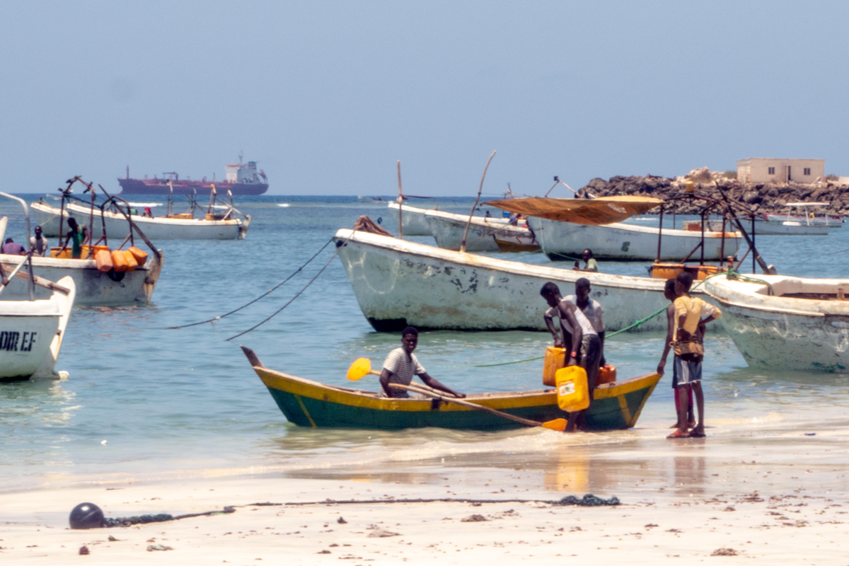 Demand for fish in Mogadishu has come to a standstill