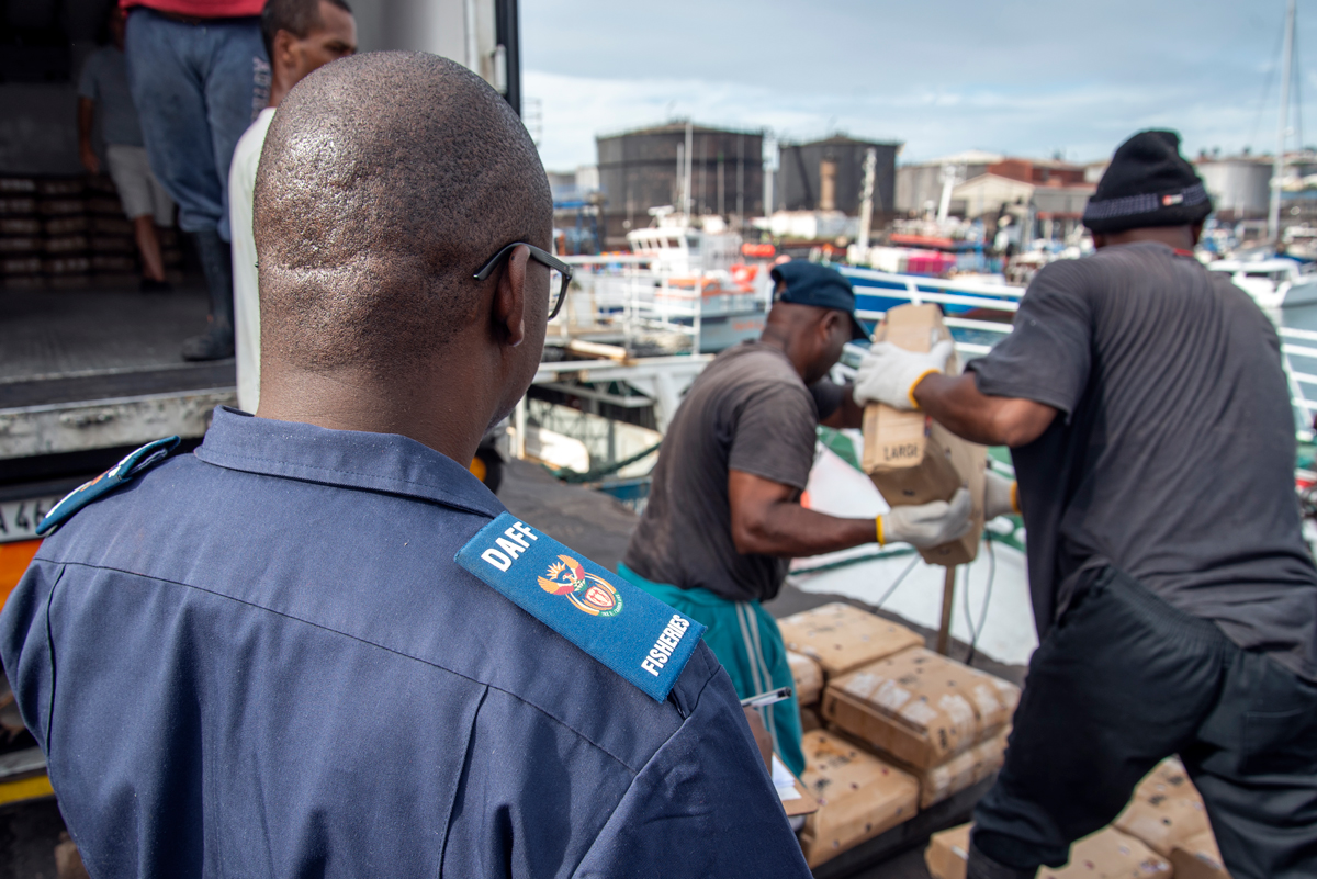 COVID-19 impact on fisheries enforcement in South Africa